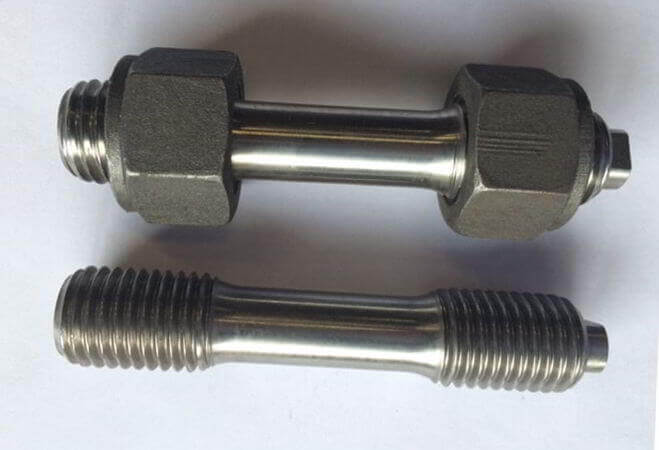 Stainless Steel UNS N08904 Double End Stud Bolts