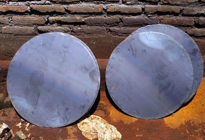 Carbon Steel Forged Circular Plates