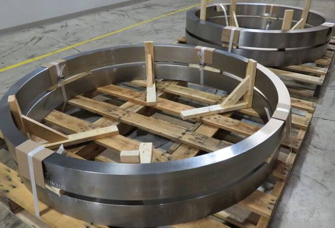 Nickel Alloy Seamless Rolled Ring Forging