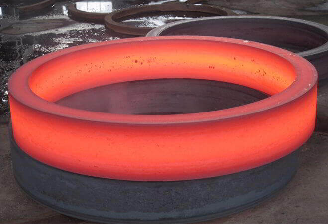 Die Steel Forged Seamless Rolled Rings
