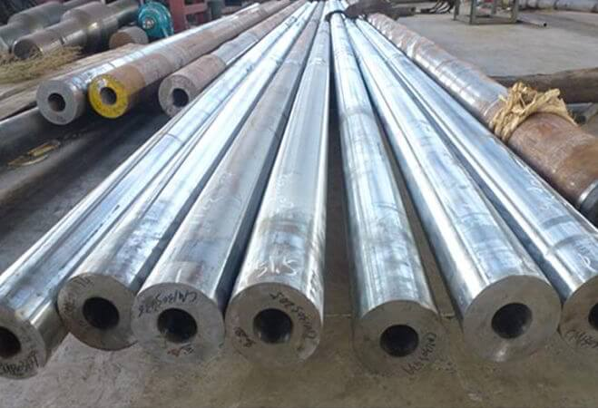 Nickel Alloy Forging : Forged hollow bars exporters stockholders manufacturers