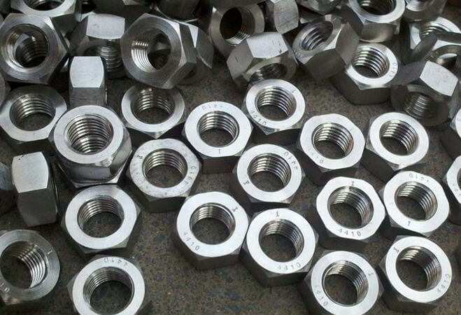 Inconel 718 Custom Nuts