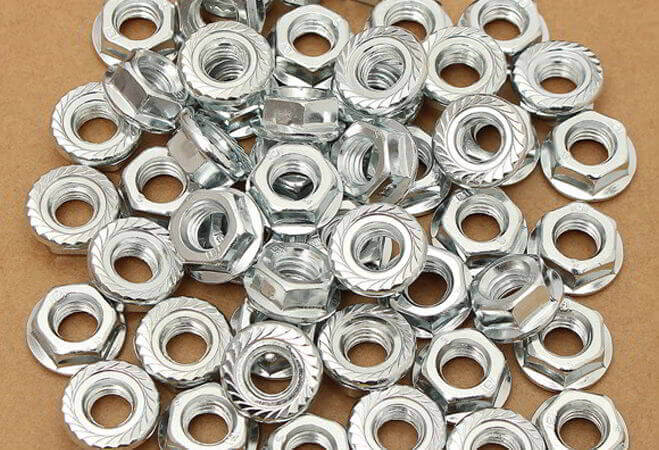 Carpenter 20 Flange Nuts