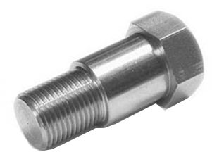F55 UNS S32760 ASME SA182 Hex shoulder Bolt
