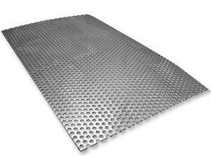 Duplex Steel UNS S31803 Perforated Sheets