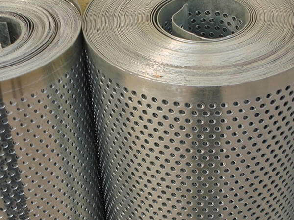 Duplex Stainless Steel S31803 Perforated Coil