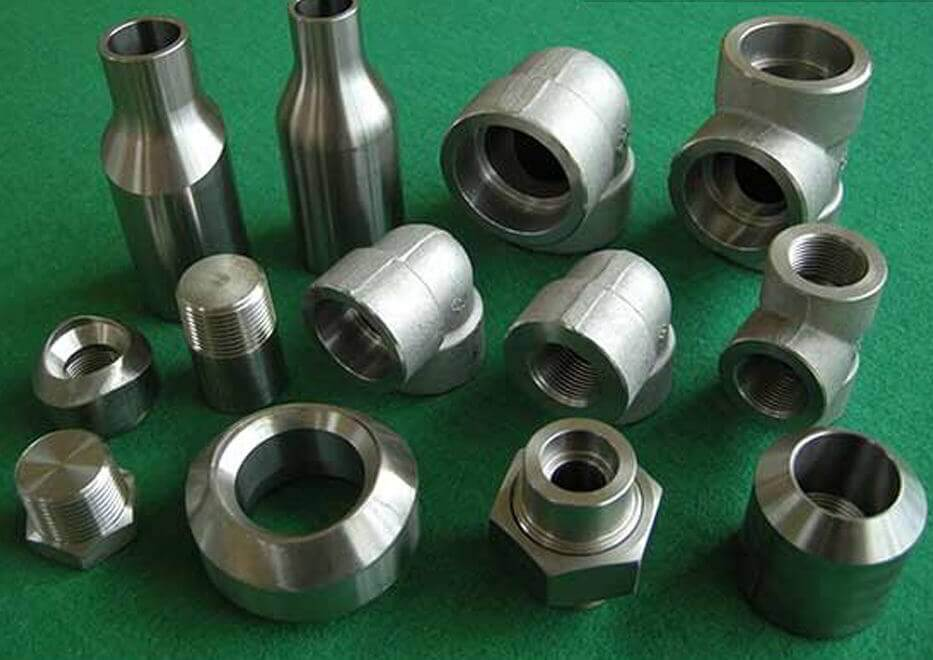 Duplex Steel UNS S32205 Forged Pipe Fittings