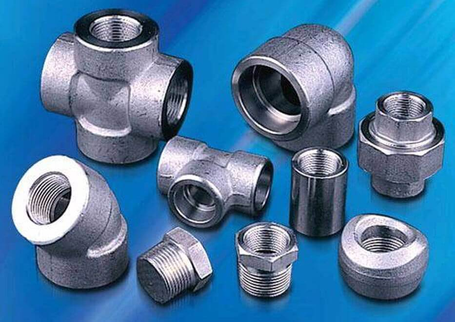 Duplex Steel UNS S31803 Forged Pipe Fittings