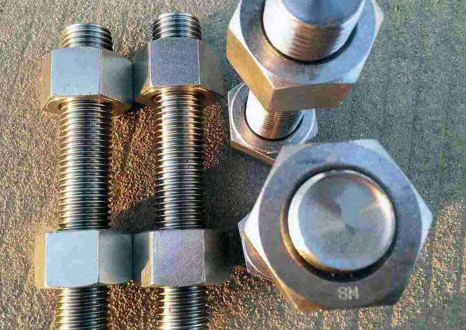 Stainless Steel 904L Stud Bolts